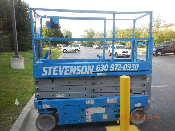 Genie GS2632, Scissor Lifts, Construction Equipment
