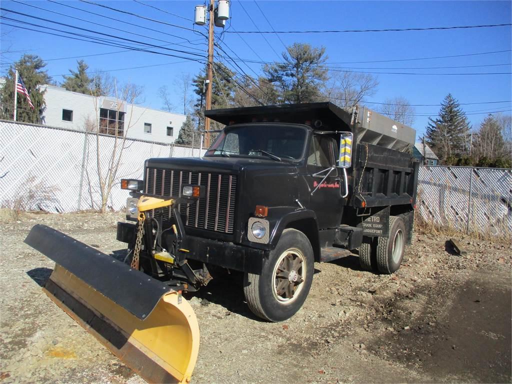 GMC 7500, Dump Trucks, Trucks and Trailers