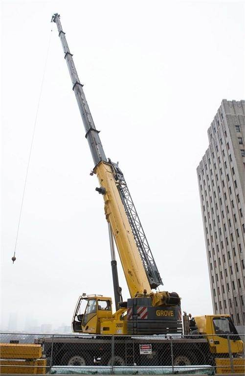 Grove GMK3055, All Terrain Cranes and Hydraulic Truck Cranes, Construction Equipment