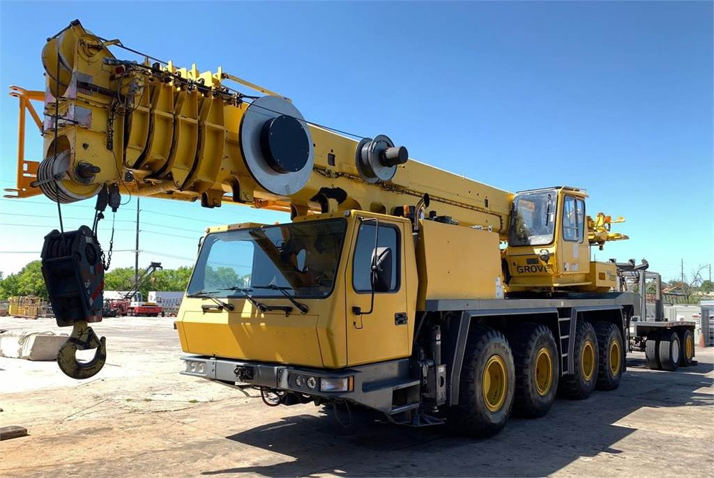 Grove GMK4090, All Terrain Cranes and Hydraulic Truck Cranes, Construction Equipment