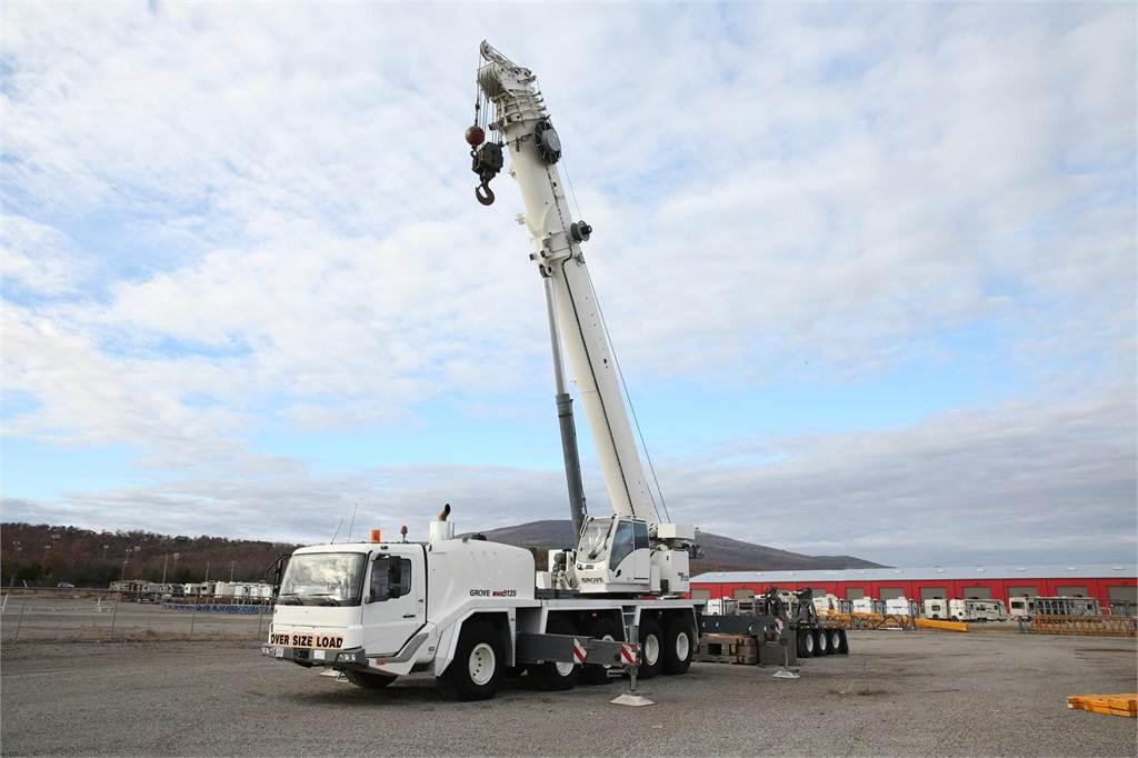 Grove GMK5135, All Terrain Cranes and Hydraulic Truck Cranes, Construction Equipment
