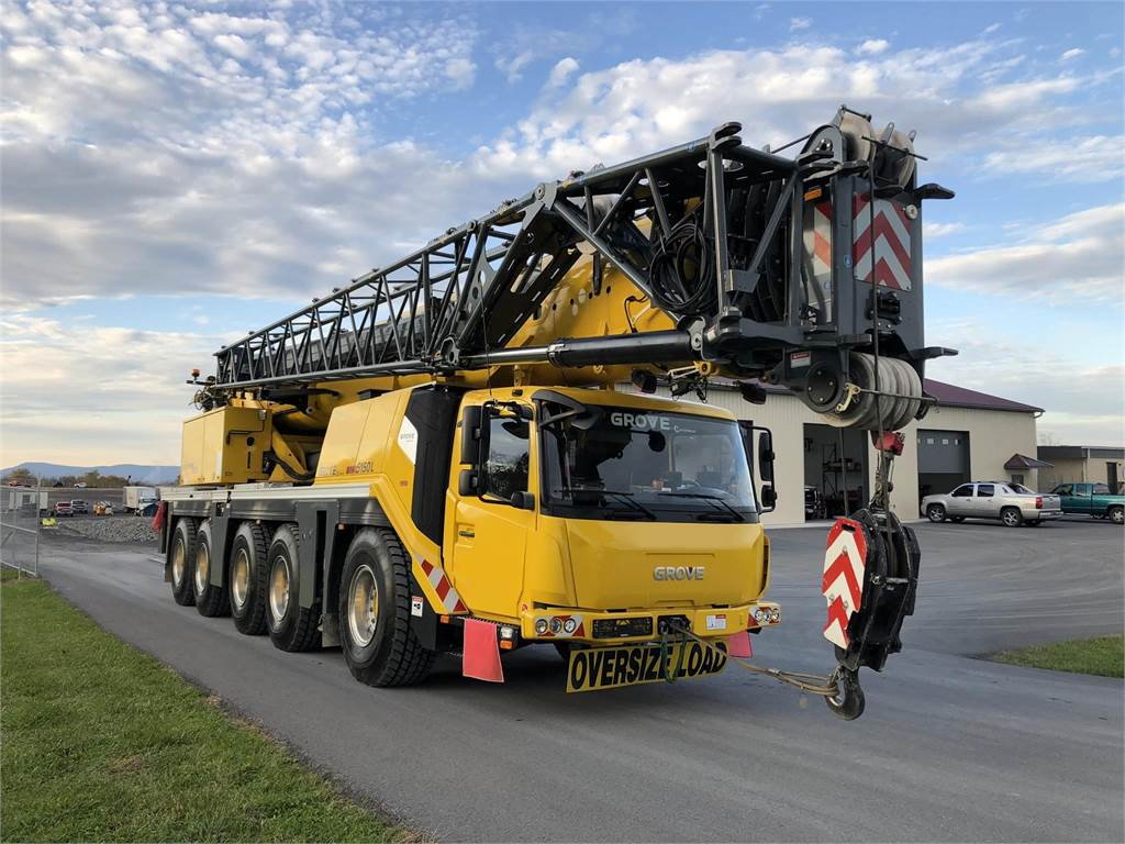 Grove GMK5150L, All Terrain Cranes and Hydraulic Truck Cranes, Construction Equipment