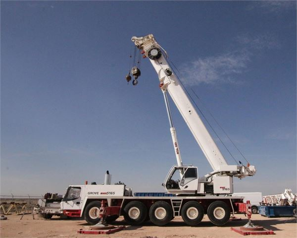 Grove GMK5165, All Terrain Cranes and Hydraulic Truck Cranes, Construction Equipment
