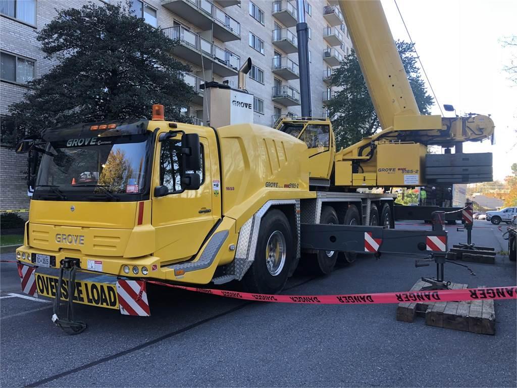 Grove GMK5165-2, All Terrain Cranes and Hydraulic Truck Cranes, Construction Equipment