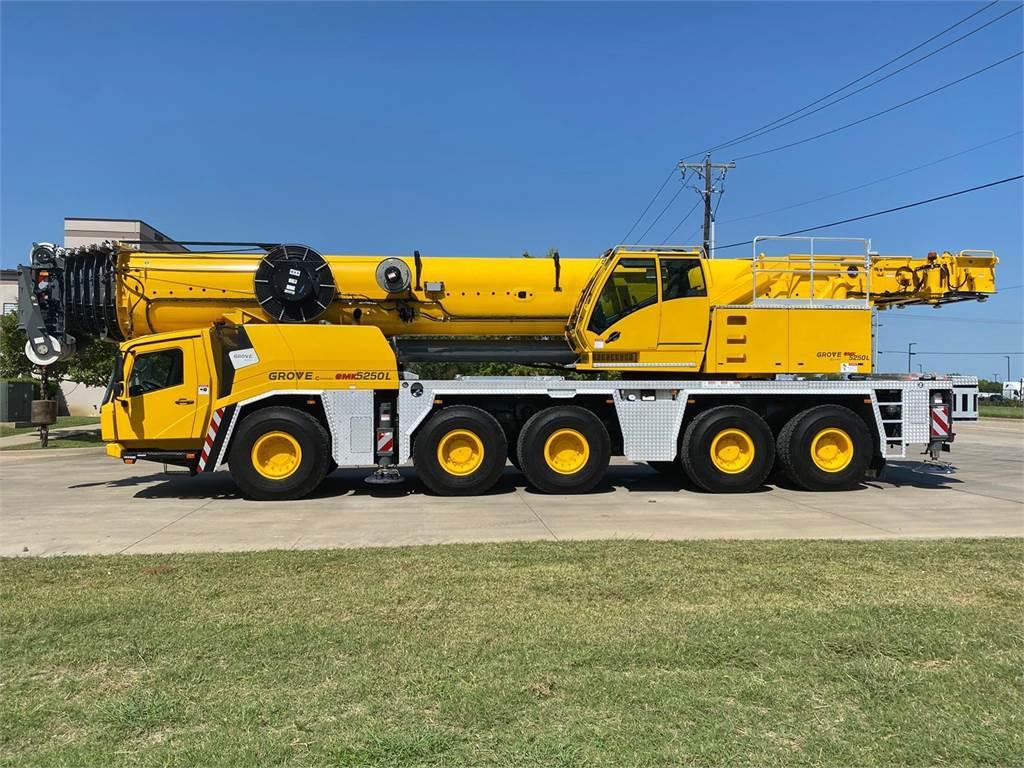 Grove GMK5250L, All Terrain Cranes, Construction Equipment