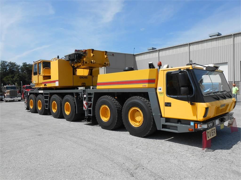 Grove GMK6350, All Terrain Cranes, Construction Equipment