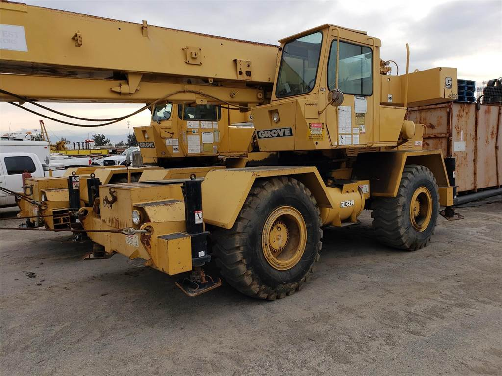 Grove RT518, Rough Terrain Cranes, Construction Equipment