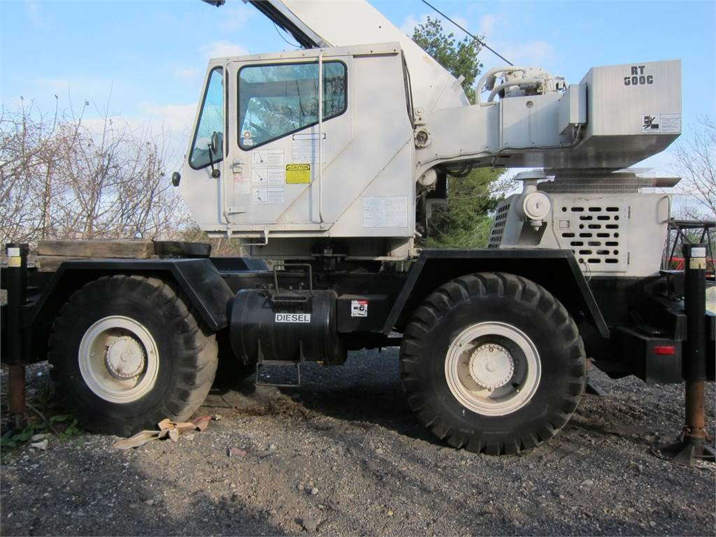 Grove RT528C, Rough Terrain Cranes, Construction Equipment