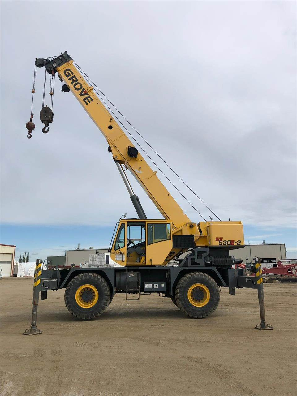 Grove RT530E-2, Rough Terrain Cranes, Construction Equipment
