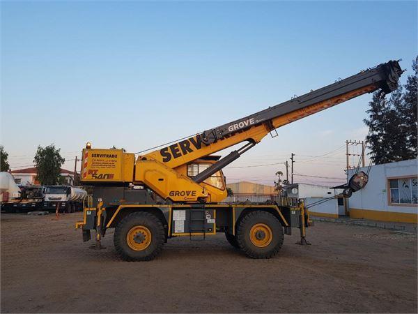 Grove RT540E, Rough Terrain Cranes, Construction Equipment