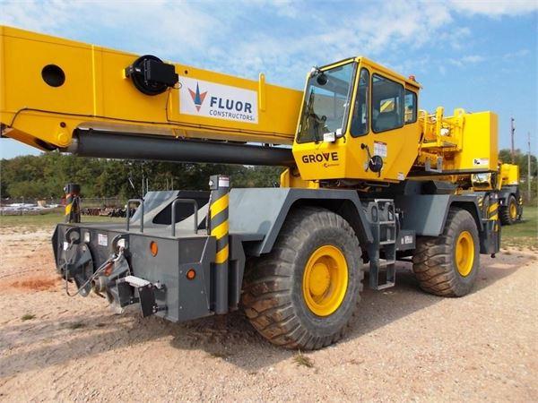 Grove RT600E, Rough Terrain Cranes, Construction Equipment