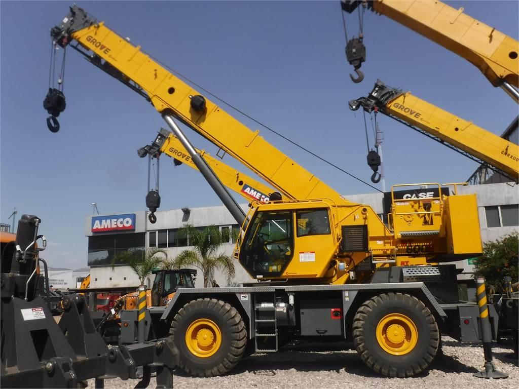 Grove RT650E, Rough Terrain Cranes, Construction Equipment