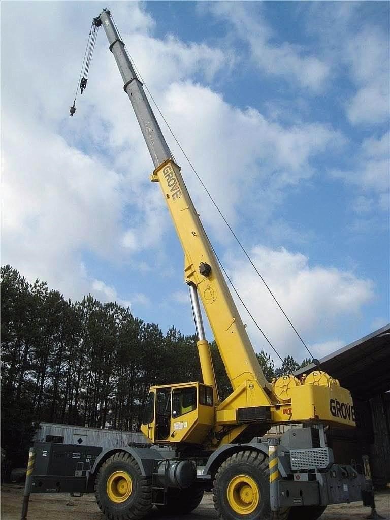 Grove RT700E, Rough Terrain Cranes, Construction Equipment