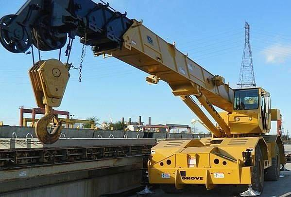 Grove RT745, Rough Terrain Cranes, Construction Equipment