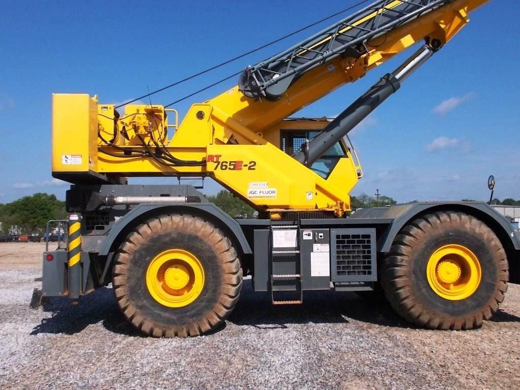 Grove RT765E-2, Rough Terrain Cranes, Construction Equipment
