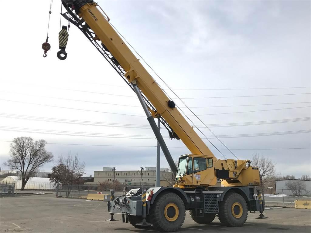 Grove RT875E, Rough Terrain Cranes, Construction Equipment
