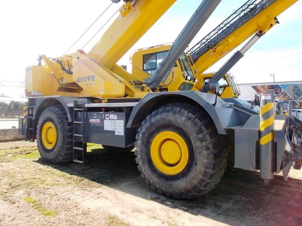 Grove RT880E, Rough Terrain Cranes, Construction Equipment