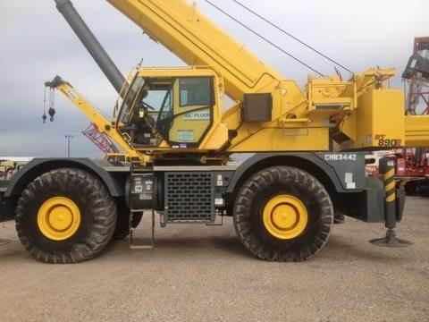 Grove RT890E, Rough Terrain Cranes, Construction Equipment