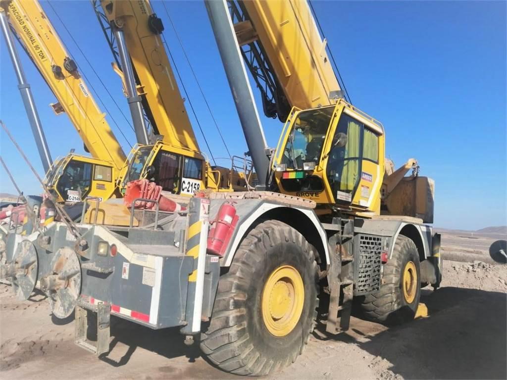 Grove RT890E-4, Rough Terrain Cranes, Construction Equipment