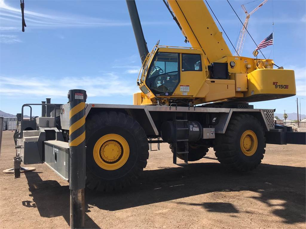Grove RT9150E, Rough Terrain Cranes, Construction Equipment