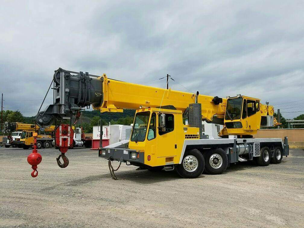 Grove TMS760E, All Terrain Cranes and Hydraulic Truck Cranes, Construction Equipment