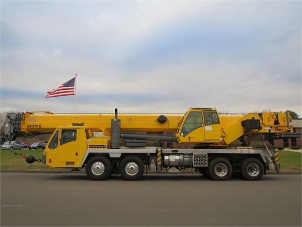 Grove TMS800E, All Terrain Cranes and Hydraulic Truck Cranes, Construction Equipment
