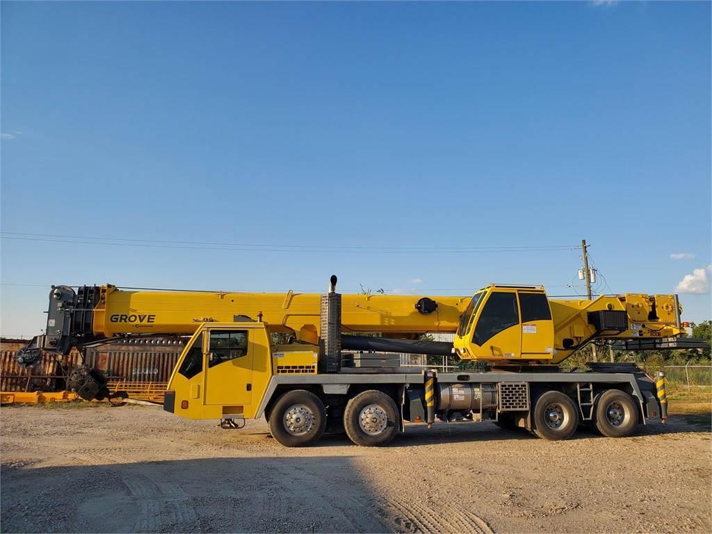 Grove TMS800E, Hydraulic Truck Cranes and Boom Trucks, Trucks and Trailers