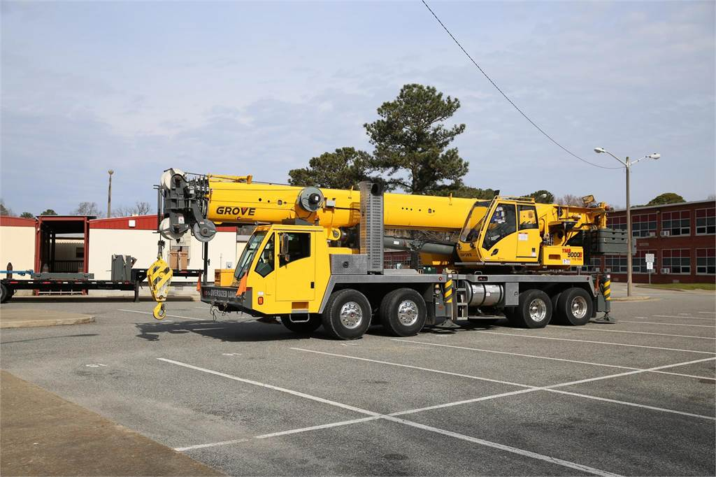 Grove TMS9000E, Truck Mounted Aerial Platforms, Construction Equipment