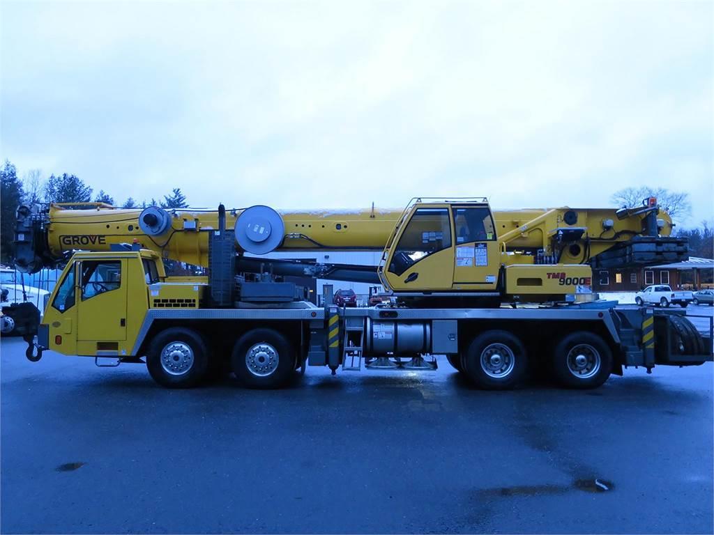 Grove TMS9000E, All Terrain Cranes and Hydraulic Truck Cranes, Construction Equipment