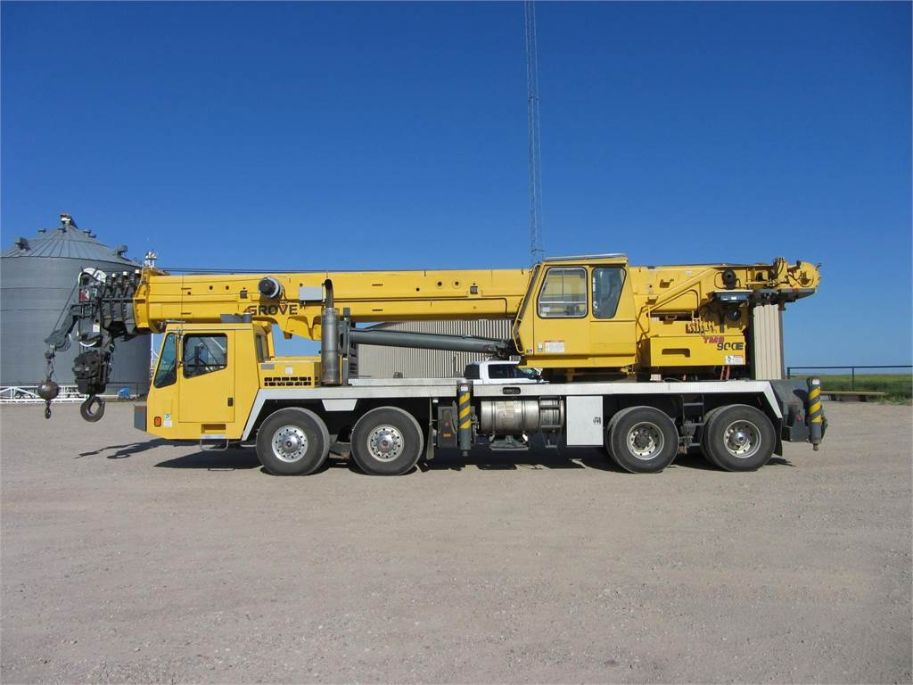 Grove TMS900E, All Terrain Cranes and Hydraulic Truck Cranes, Construction Equipment