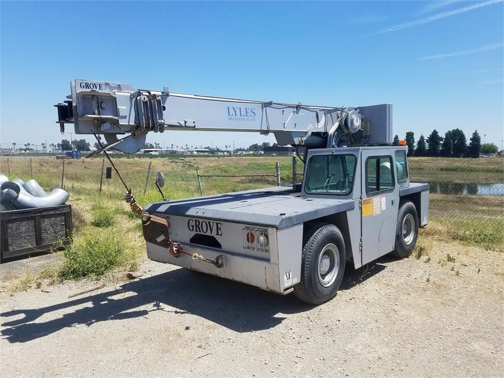 Grove YB4408, Mobile and all terrain cranes, Construction Equipment