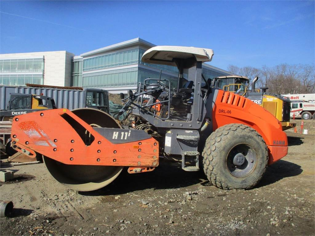 Hamm H11i, Single drum rollers, Construction