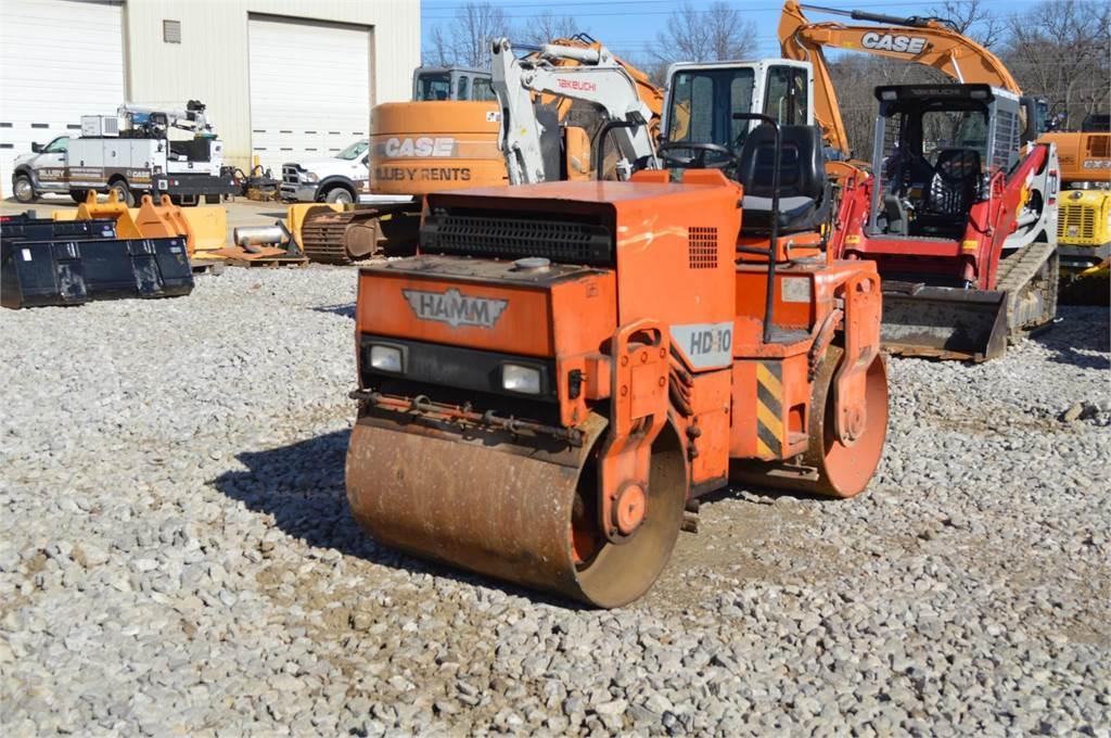 Hamm HD10, Single drum rollers, Construction Equipment
