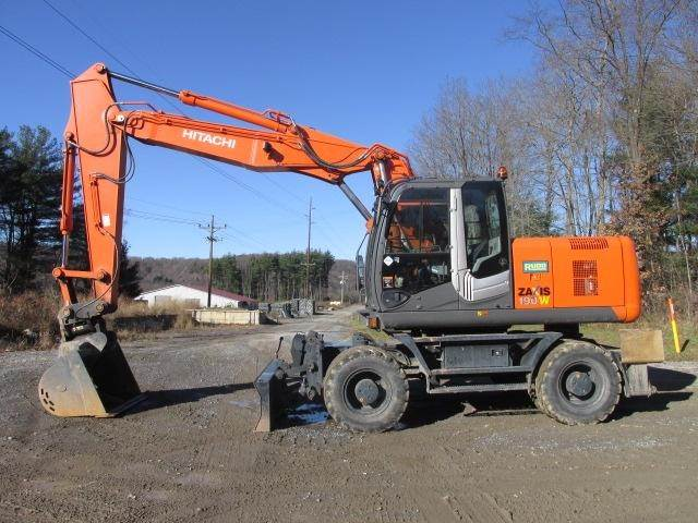 Hitachi ZX190W-3, Wheeled Excavators, Construction Equipment