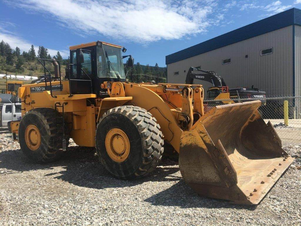 Hyundai HL780-3A, Wheel Loaders, Construction Equipment