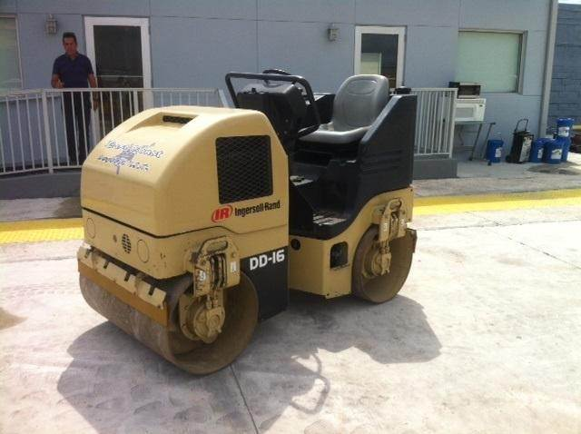 ingersoll rand dd16 for sale miami florida price 12 500 used ingersoll rand dd16 single