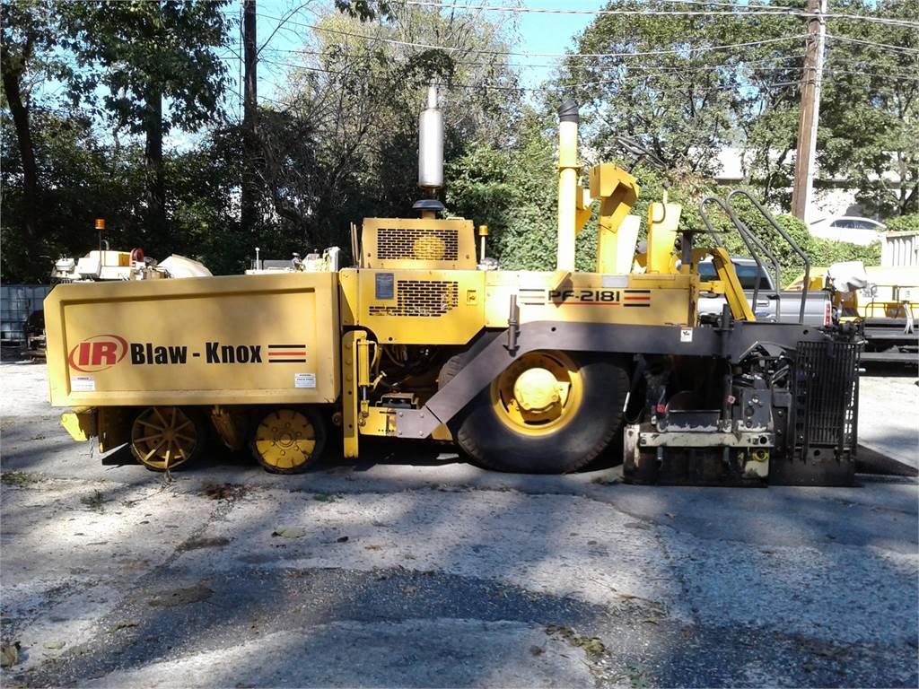 Ingersoll Rand PF2181, Asphalt pavers, Construction Equipment