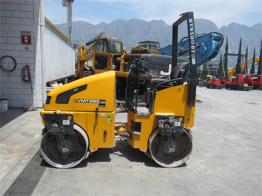 JCB Vibromax VMT260-120, Single drum rollers, Construction Equipment