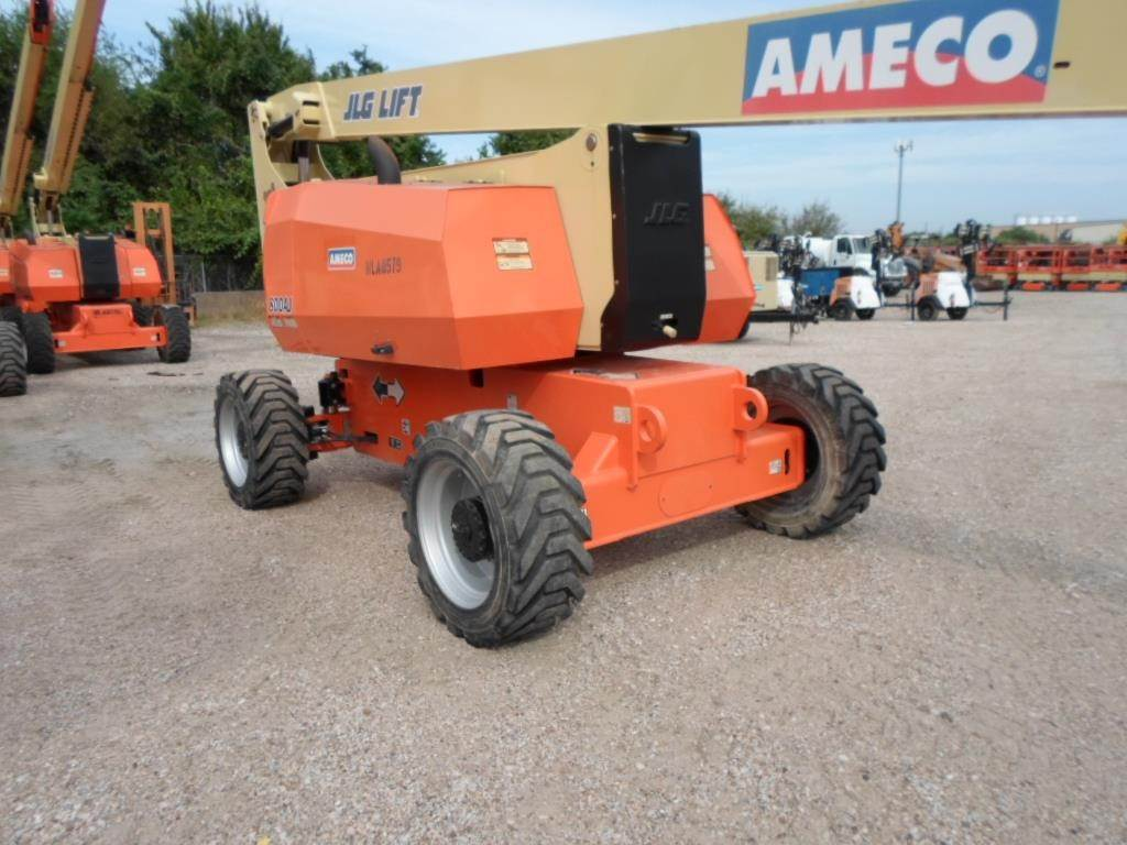 JLG 800AJ, Articulated boom lifts, Construction Equipment