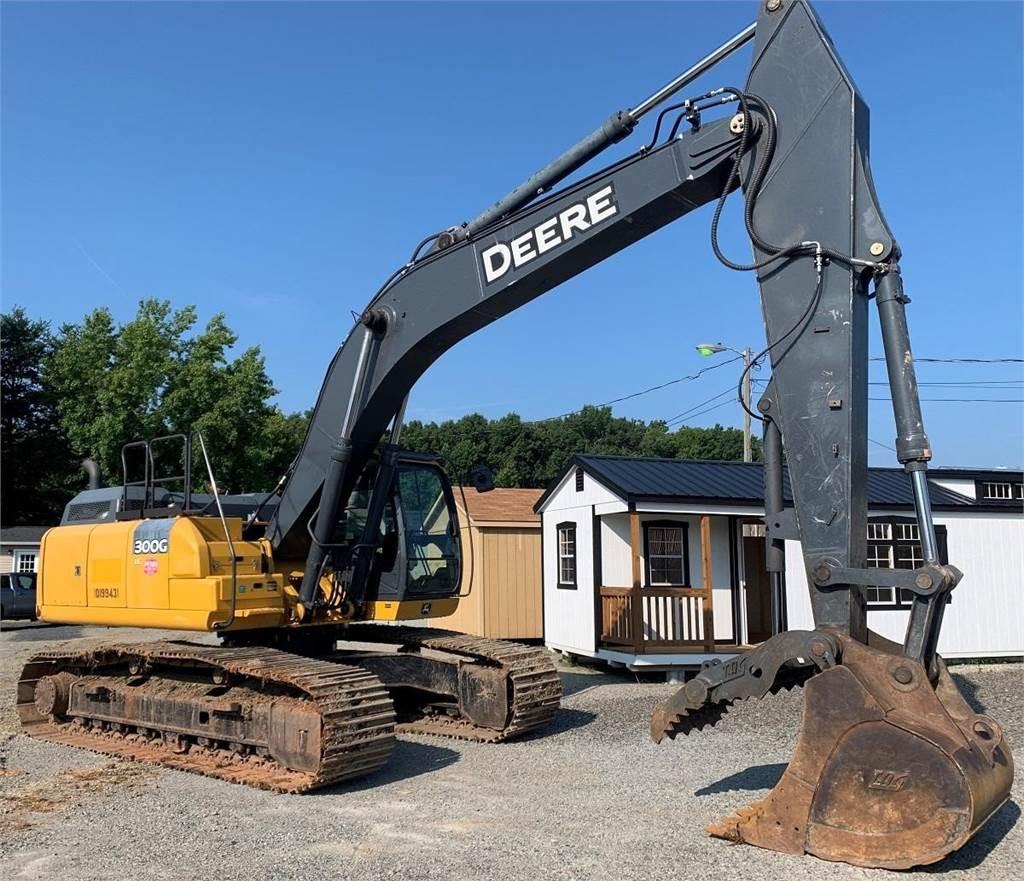 John Deere 300G LC, Crawler Excavators, Construction Equipment