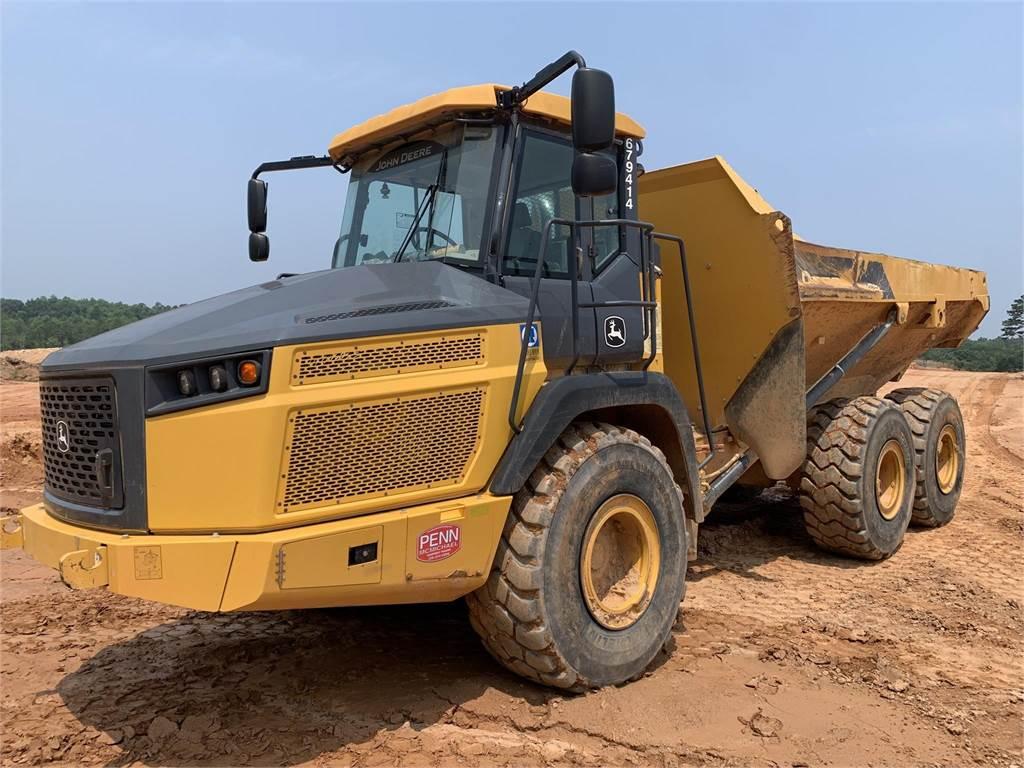John Deere 310E, Articulated Dump Trucks (ADTs), Construction Equipment