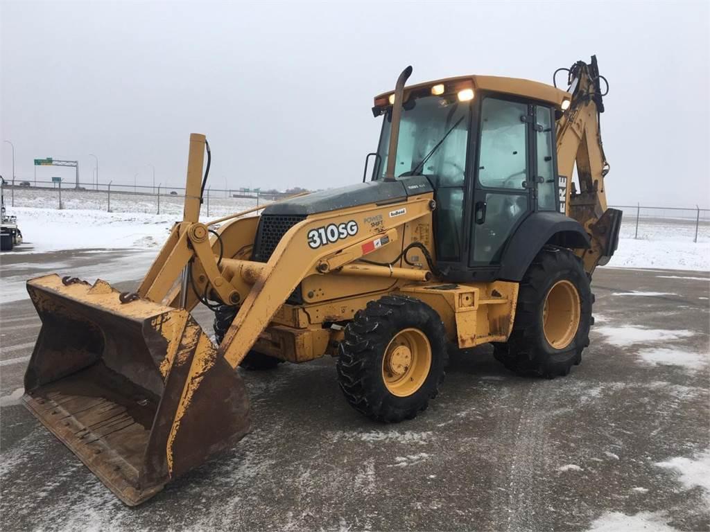 John Deere 310SG, Backhoe Loaders, Construction Equipment