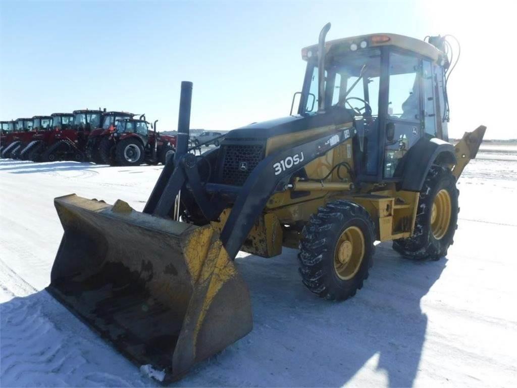 John Deere 310SJ, Backhoe Loaders, Construction Equipment