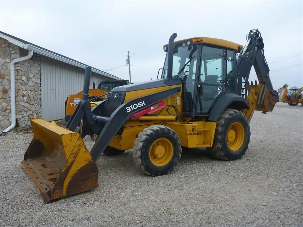 John Deere 310SK, Backhoe Loaders, Construction Equipment