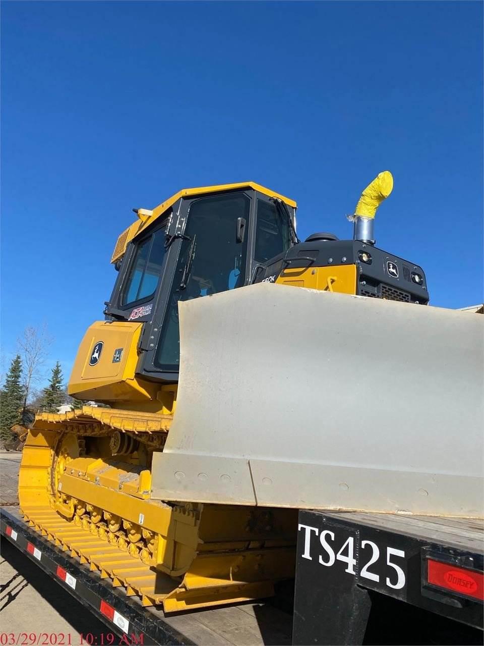 John Deere 550K, Crawler dozers, Construction Equipment