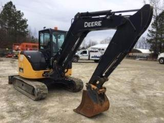 John Deere 60G, Crawler Excavators, Construction Equipment
