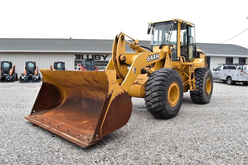 John Deere 644H, Wheel Loaders, Construction Equipment