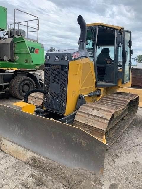 John Deere 650K, Crawler dozers, Construction Equipment