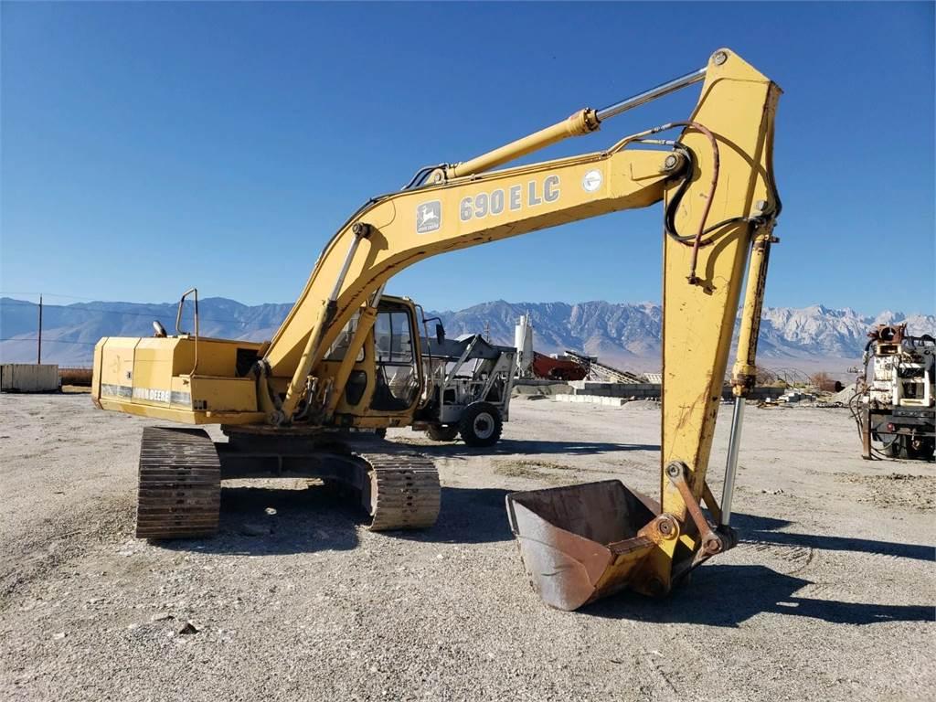 John Deere 690E LC, Crawler Excavators, Construction Equipment
