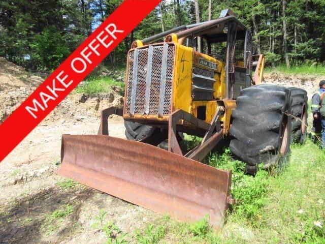 John Deere 740 - Skidders - Forestry Equipment - Volvo CE